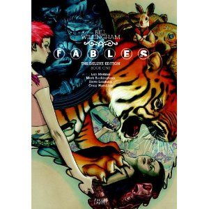 Fables...children's stories come to life in an alternate universe