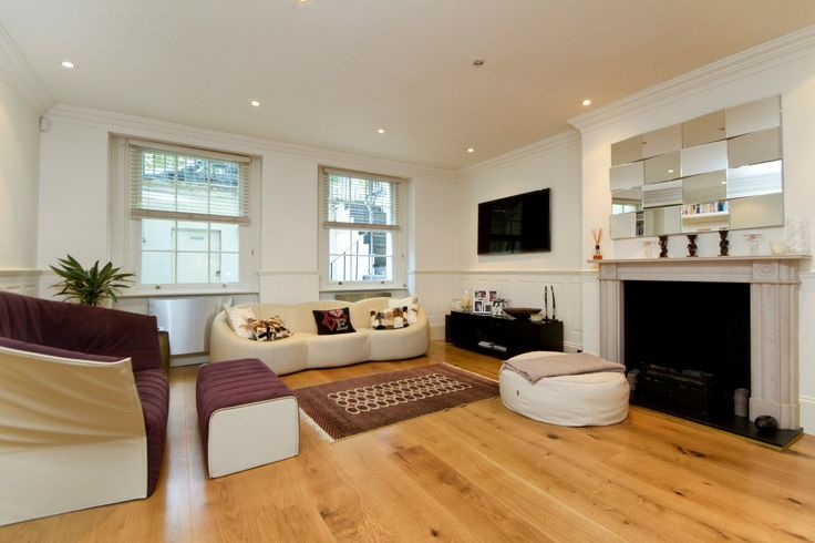 Reception Room basement flat London W2 #cutlerandbond #basementflat #gardenflat #londonproperty