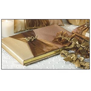 Traditional Guest Book (Bronze Elegance Collection)