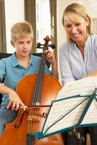 There has been much written on the benefits of music lessons for children. One of the most obvious benefits is that music helps develop creativity. Another lesser known advantage is that it helps children with mathematics.