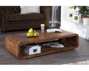 Drewniany stolik kawowy - 1