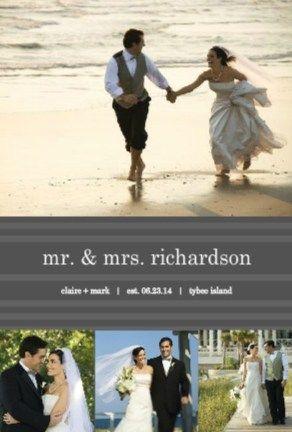 Post Wedding Announcement Wording