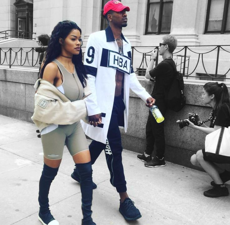 Teyana Taylor and Iman Shumpert | NYFW 2016