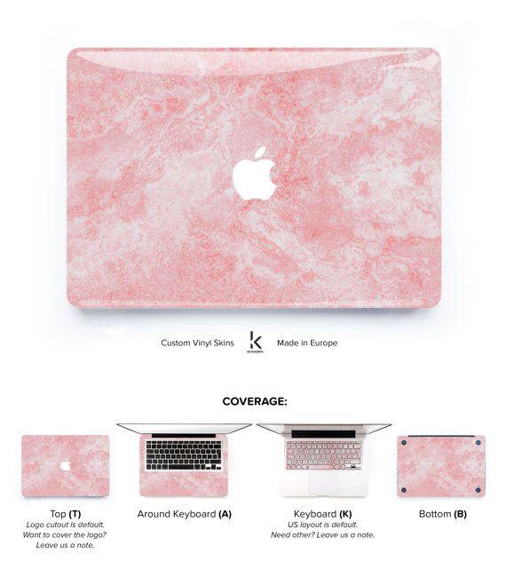 Macbook Skin Marble Macbook Pro Skin Macbook Air Skin by Keyshorts
