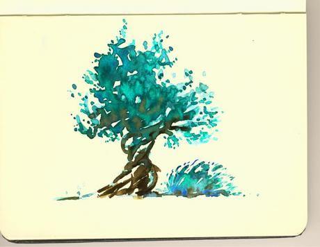 Olive 'skine.art - Moleskine Art