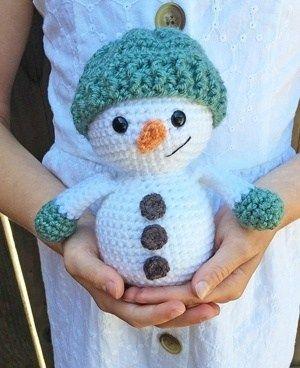 Free Crochet Snowman Pattern In 2020 Snowmen Patterns Christmas Crochet Free Crochet