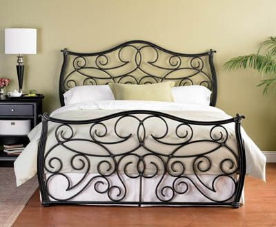 Another iron bed frame , interesting!