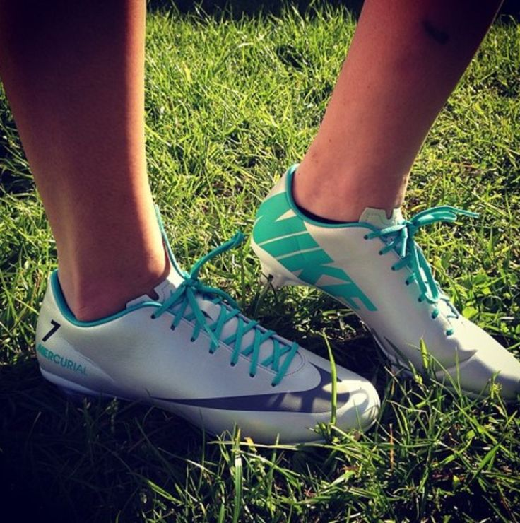 Every soccer girls needs some cleats!