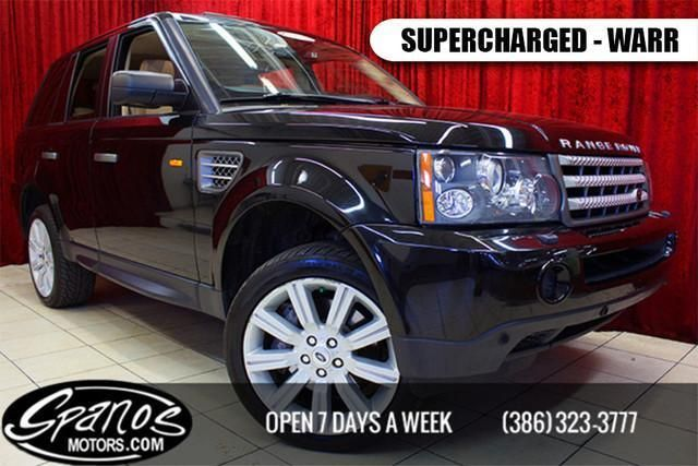 Used 2008 Land Rover Range Rover Sport Supercharged