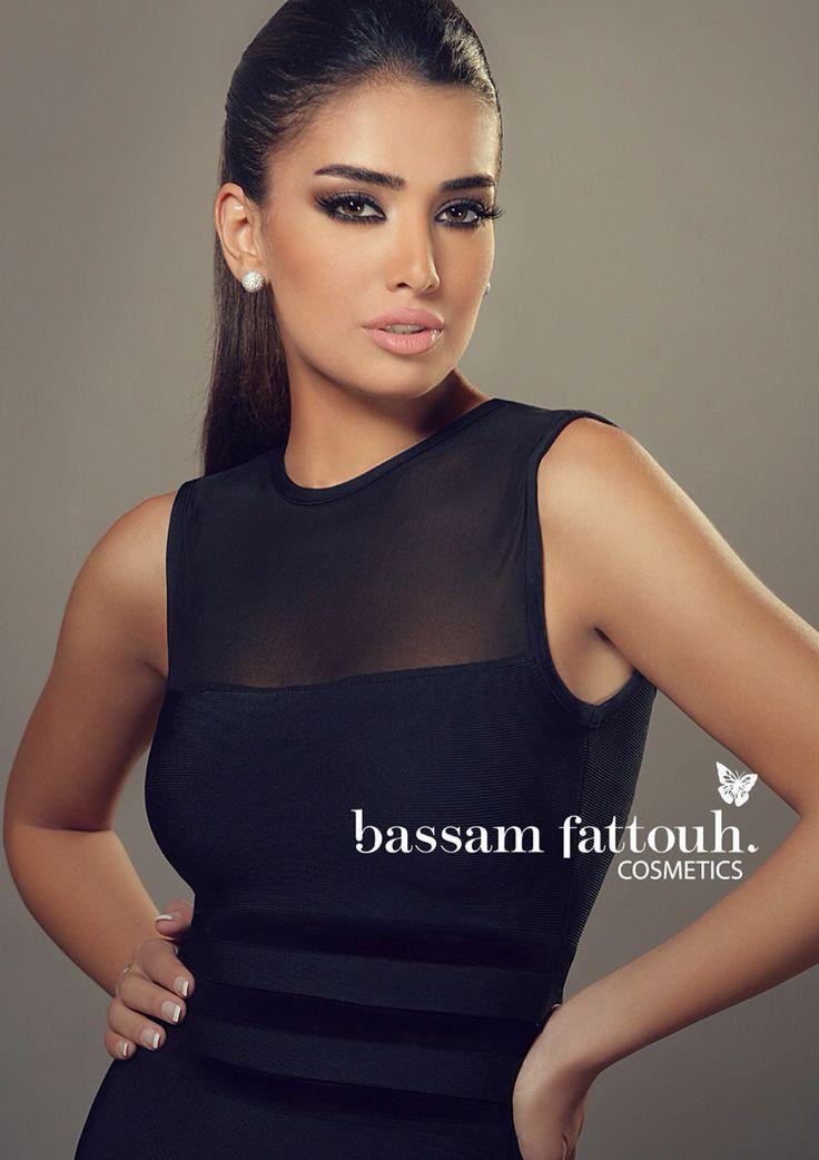Bassam Fattouh Cosmetics ~ The Lebanese anchor Jessica Azar.