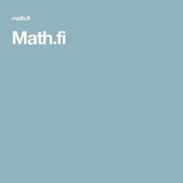 Math.fi
