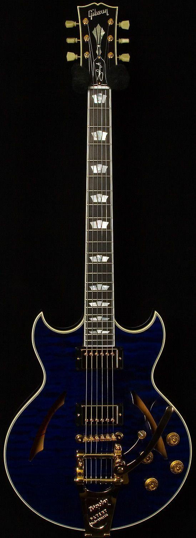 Gibson Johnny A. Signature  #LardysChordophoneOfTheDay #Guitar ~ https://www.pinterest.com/lardyfatboy/lardys-other-fretted-chordophones-of-the-day/ ~