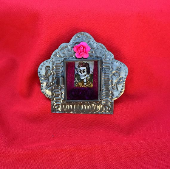 Frida Kahlo Day Of The Dead Inspired Detailed by RuvalcababMade