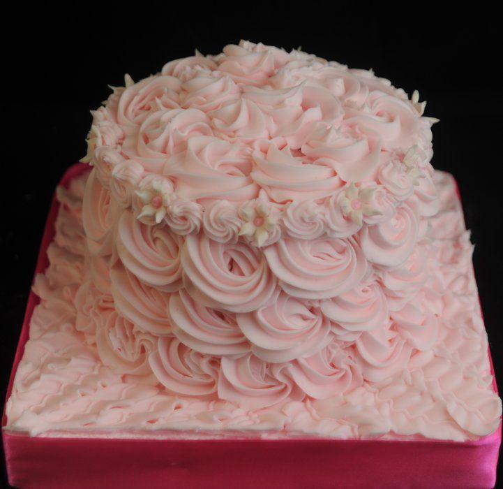A smash cake!