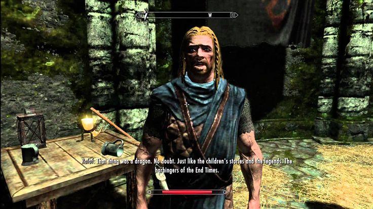 Skyrim Gameplay - Let's Play Skyrim Part 1 (1080P) - YouTube
