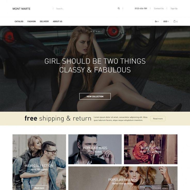 #Clothing Theme #PrestaShop #templates #theme #Addons #Shop #Ecommerce #Prestapro