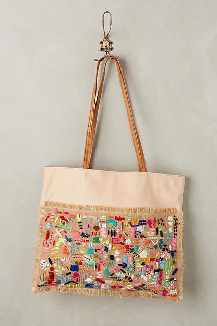 En Shalla Patchwork Tote Bag