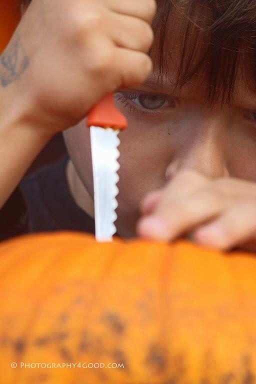 Pumpkin carving intensity