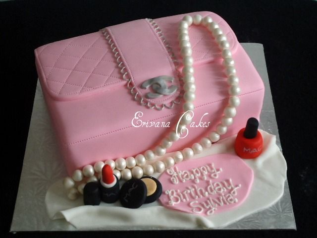 Google Image Result for http://www.erivanacakes.com/photos/Specialty-Cakes/Pink%2520Channel%2520Purse%2520Cake.jpg