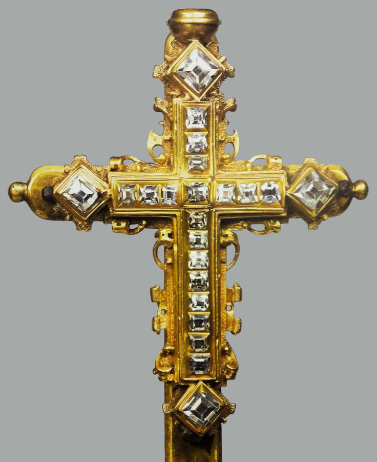 Diamond cross of Anna Jagiellon by Anonymous from Kraków, second half of the 16th century (PD-art/old), Muzeum Skarbca Katedralnego im. Jana Pawła II w Krakowie