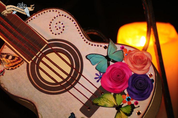 Guitar butterfly 2