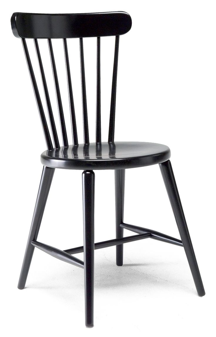 PINNA-tuoli, musta