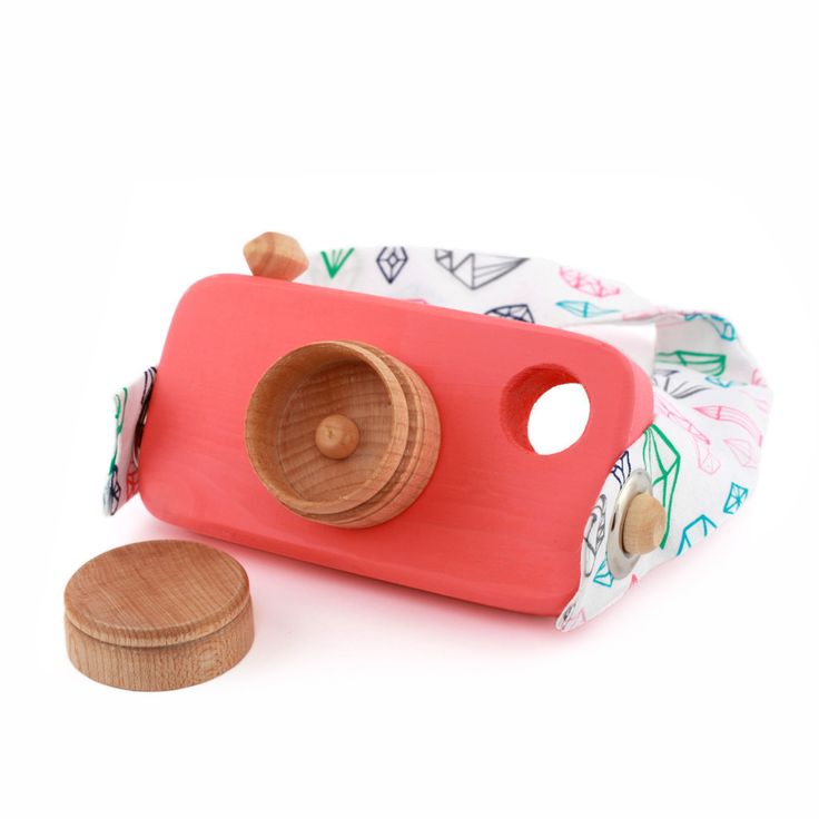 Wooden Toy Camera by From the Seeds