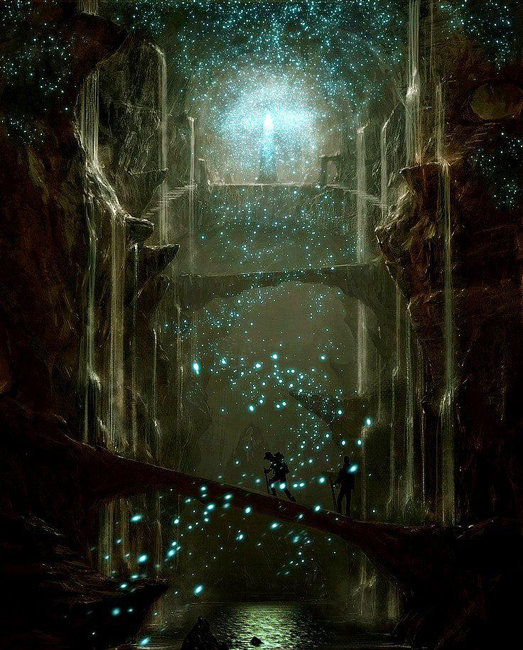 Magic all around you. Travel in Fantasy world