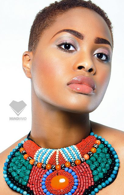 :): Statement Necklaces, Natural Beautiful, Makeup Artists, Accessories Necessities, Statement Accessories, Faceblack Beautiful, Faces Black Beautiful, Natural Hairstyles, Hair Inspiration