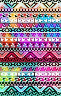 fondos tribal de colores tumblr - Buscar con Google