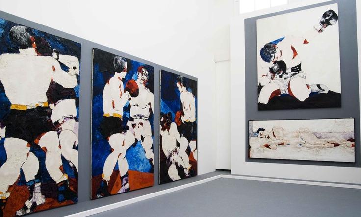 Exhibition: Testori Boxers