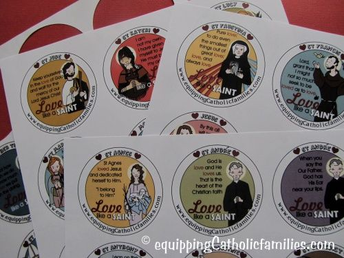 LOVE like a SAINT Valentine: NEW Craft Kit with Kelly Saints and Love Quotes!