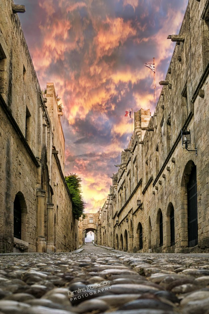 The Street of Knights Medieval Rhodes by Dimitris Koskinas on 500px