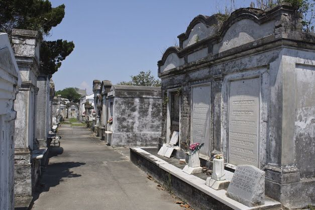 St. Louis No. 1 Cemetery, New Orleans, Louisiana. Founded in 1789 - it's the oldest in the city.