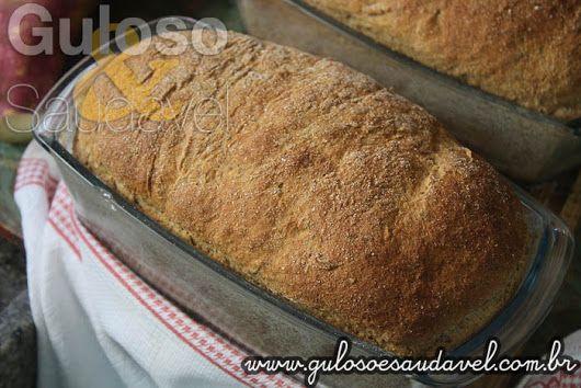 Esse Pão Integral de Batata Doce Aromático tem um cheirinho incrível e é super macio, perfeito para o #lanche! #Receita aqui: http://www.gulosoesaudavel.com.br/2016/05/16/pao-integral-batata-doce-aromatico/