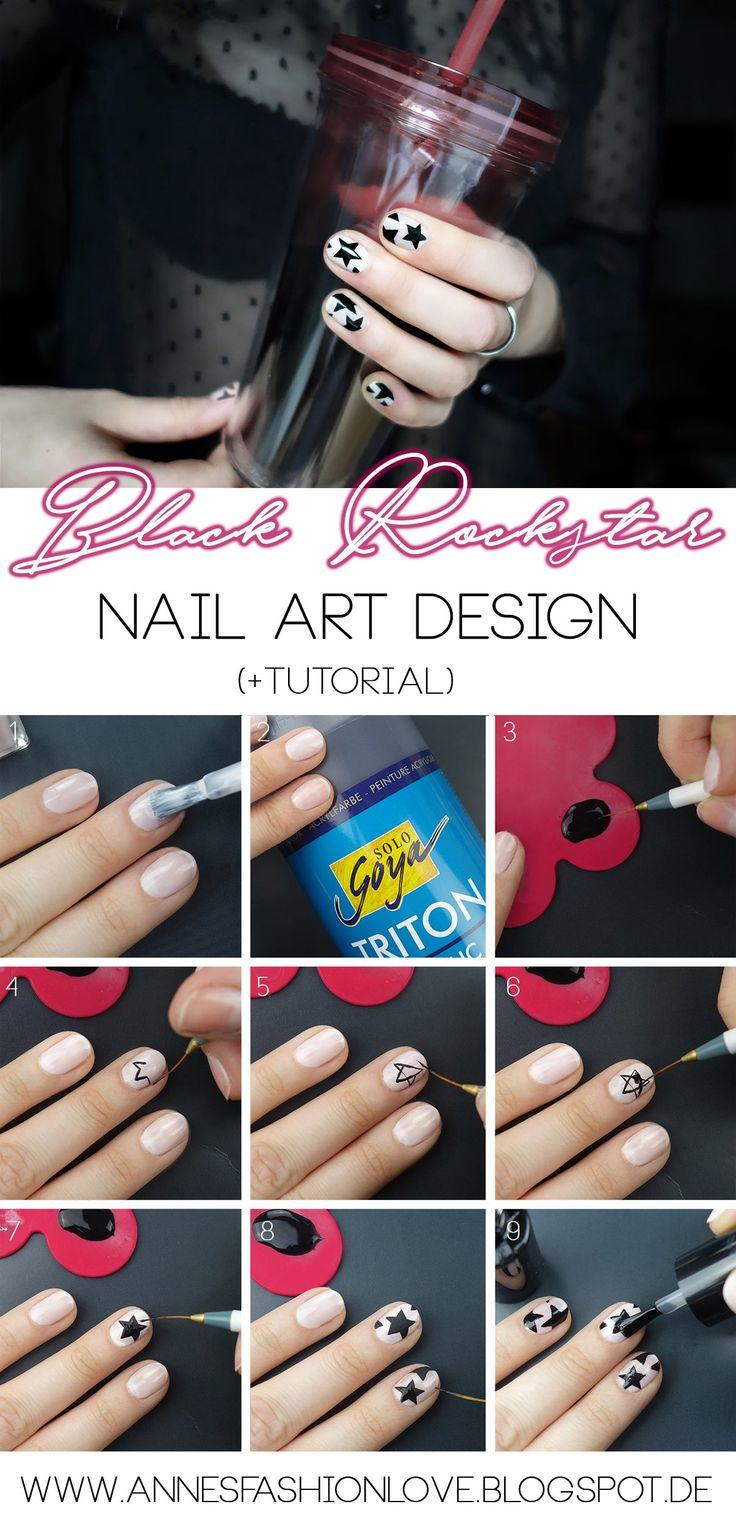 BLOGGED: Es gibt zur neuen Sasion auch ein neues Nail Art Design auf meinem Blog zu sehen inkl. Tutorial und einen Profi Tipp, wie man schöne Designs auf die Nägel zaubert! Ich hoffe euch gefällt es genauso gut wie mir! Lasst mir eure Meinung gerne auf dem Blog da.  http://annesfashionlove.blogspot.de/2017/10/black-rockstar-nail-art-tutorial.html