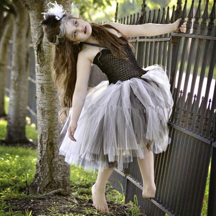 39.38$  Watch now - https://alitems.com/g/1e8d114494b01f4c715516525dc3e8/?i=5&ulp=https%3A%2F%2Fwww.aliexpress.com%2Fitem%2FHalloween-Ballet-Skirt-Dress-Kids-Zombie-Princess-Dress-Girl-Cosplay-Clothing-Children-Girl-Clothing-Dress-Up%2F32783067530.html - New Halloween Ballet princess dress Costume Kids Zombie tutu Dress Girl Cosplay Clothing Children toddler girl dresses