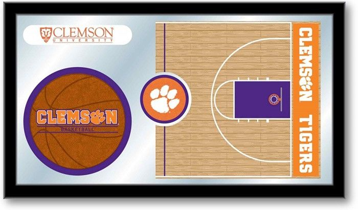 Clemson Tigers Basketball Team Sports Mirror