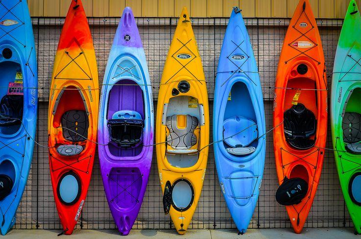 https://flic.kr/p/uucDtj | Kayak Color | Kayaks for sale!