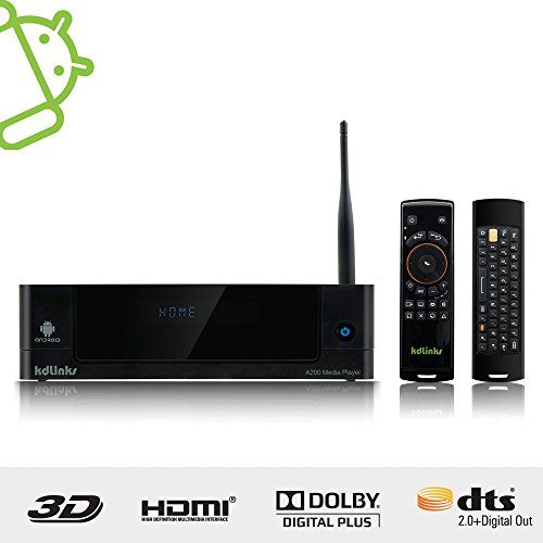 KDLINKS® A200 Android 3D Smart 1080P Network HD TV Media Player with HDD Bay, WIFI, DOLBY 7.1 and AM02 Motion Controller/Keyboard, Support Netflix, XBMC, Youtube KDLINKS http://www.amazon.com/dp/B00J90X0RC/ref=cm_sw_r_pi_dp_GwyPub02NFS5S