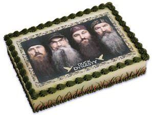 Duck Dynasty Edible Cake Topper Image