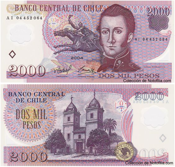 COLECCIÓN VIRTUAL | BILLETES DE POLÍMERO DE CHILE - http://notofilia.com/coleccion-virtual-billetes-de-polimero/coleccion-virtual-billetes-de-polimero-de-chile/