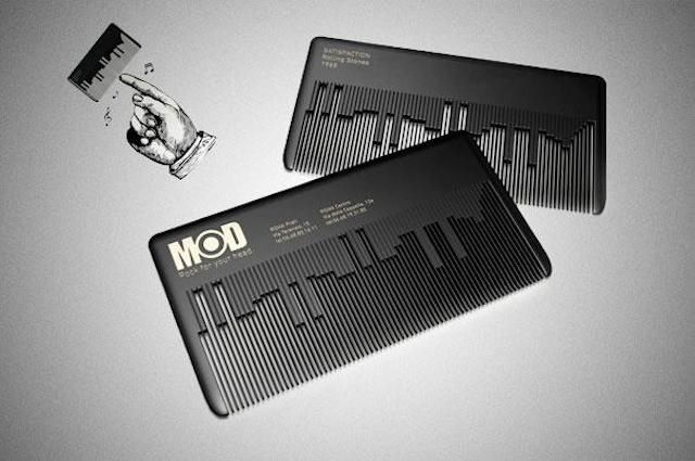 Mod, Rock Your Head 18 Of The Most Amazing And Creative Business Cards Ever Made • Page 3 of 5 • BoredBug