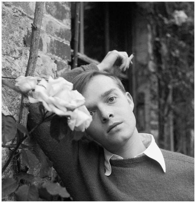 """Writer Truman Capote"" 1948, photo by English photographer CECIL BEATON (1904/1980)"
