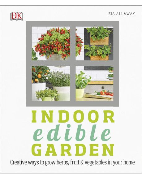 Want to grow your own, but have no garden? Indoor Edible Garden shows you how to grow crops that look good and taste better - all in your own home.