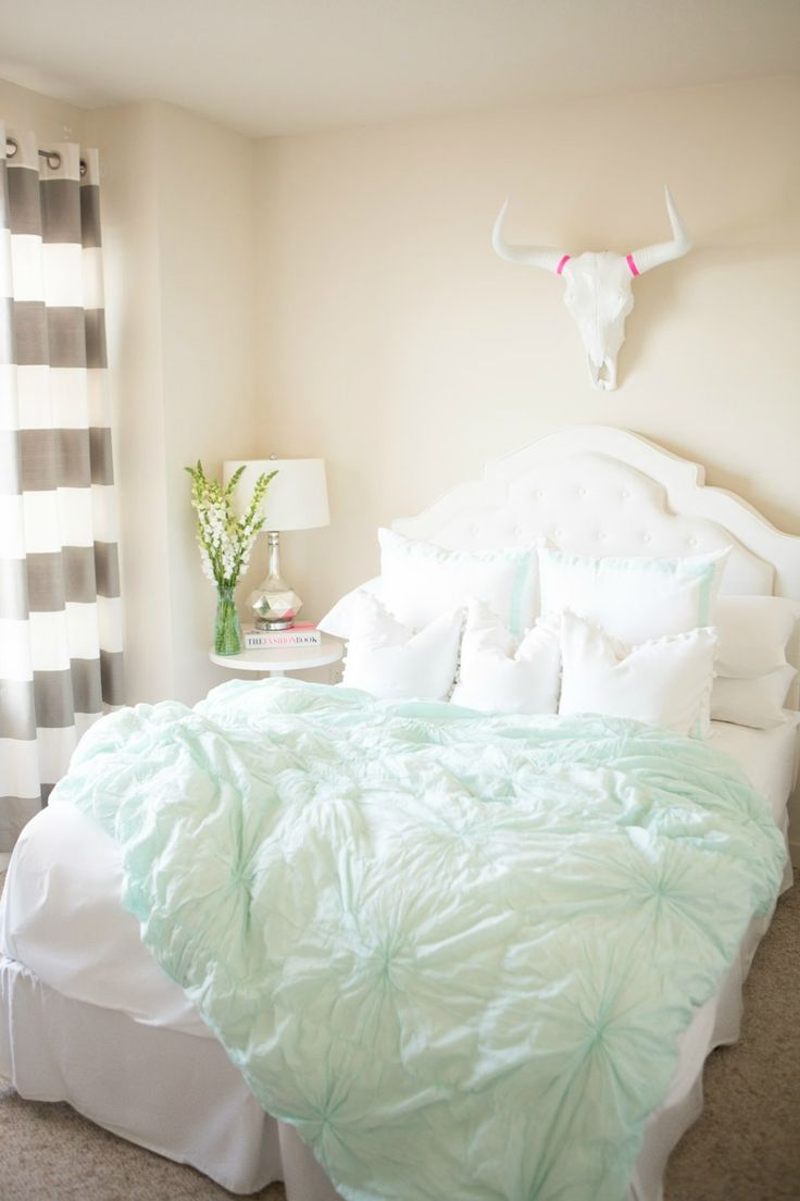 Anthology Tyler duvet cover in mint