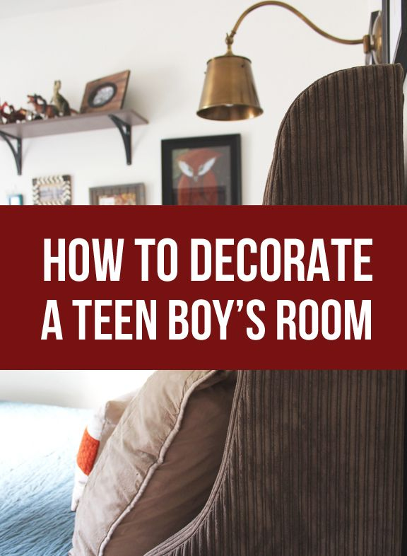 How to decorate a teen boy 39 s room teen boy rooms teen for How to decorate a teen bedroom