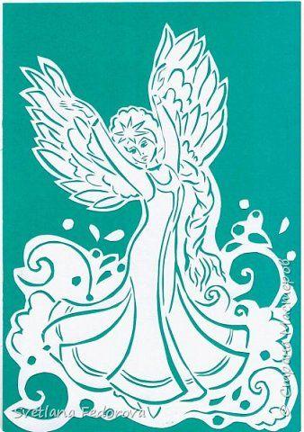 Картина панно рисунок Вырезание К произведениям А С Пушкина Бумага фото 1