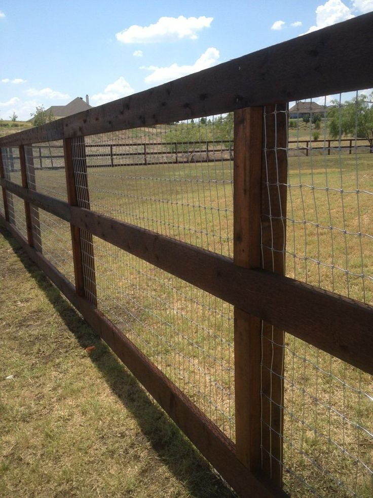 Best 25 Farm Fence Ideas On Pinterest Farm Fencing