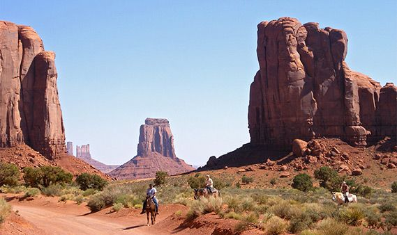 Utah. Near AZ border.   Monument valley